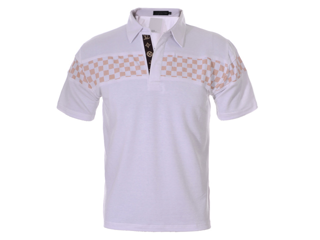 Louis Vuitton POLO shirts men-LV11615