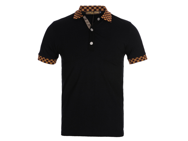 Louis Vuitton POLO shirts men-LV11634