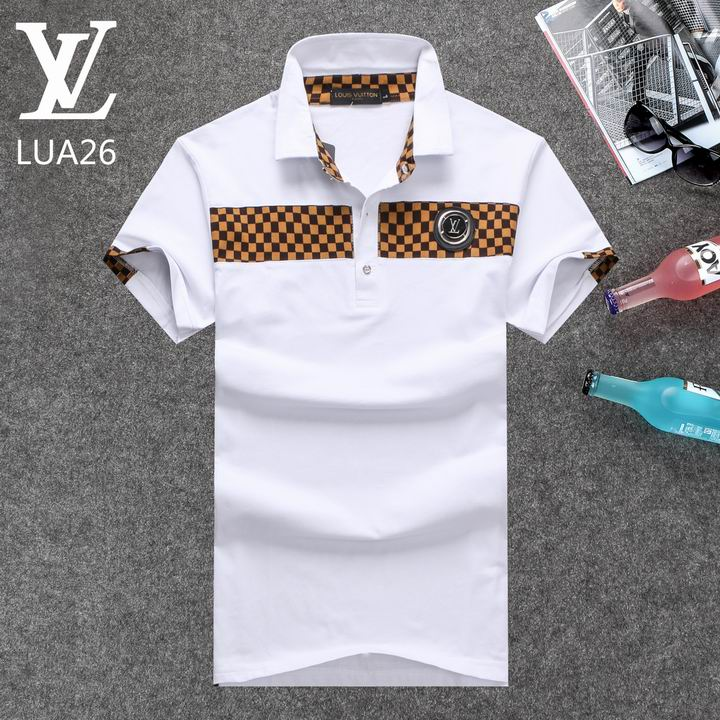 Louis Vuitton POLO shirts men-LV61822A