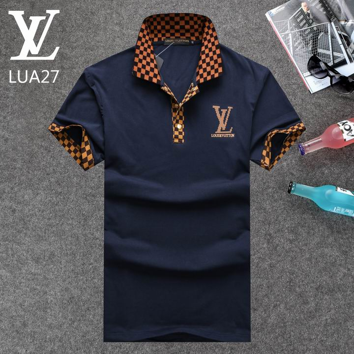 Louis Vuitton POLO shirts men-LV61829A
