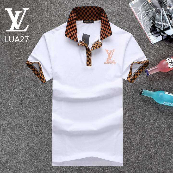 Louis Vuitton POLO shirts men-LV61830A
