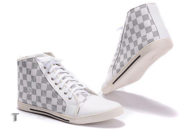 cheap louis vuitton hightop sneakers for men