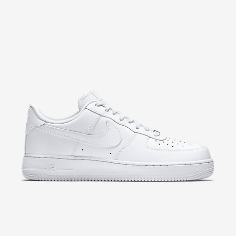 nike air force 1 low men-all white