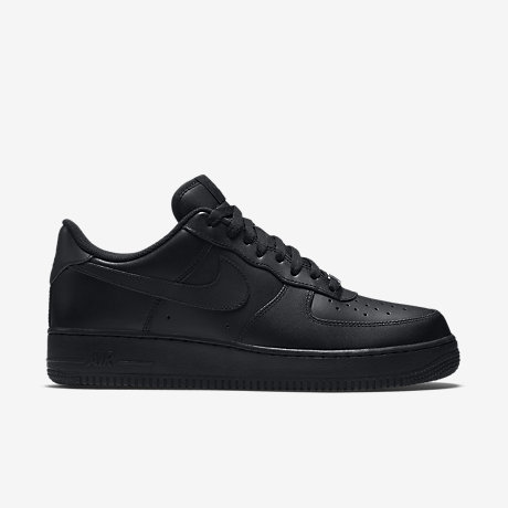 nike air force 1 low women-all black