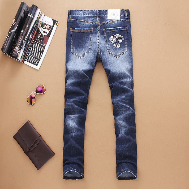 Versace long jeans men-VJ5674