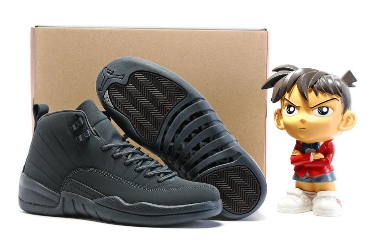 air jordan 12 (XII) shoes men-dark grey