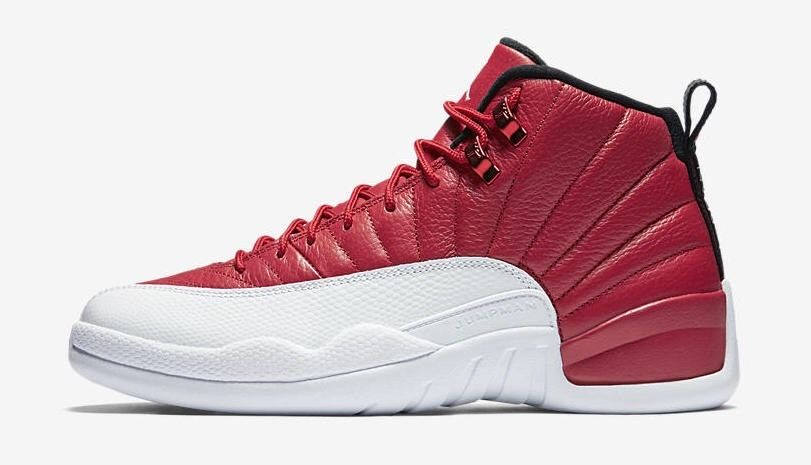 air jordans 12 (XII) men shoes-gym red