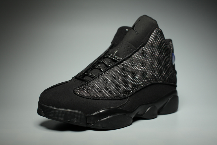 air jordans 13 (XIII) retro men shoes-black cat