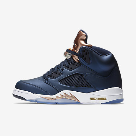 air jordans 5 (V) men shoes-Bronze
