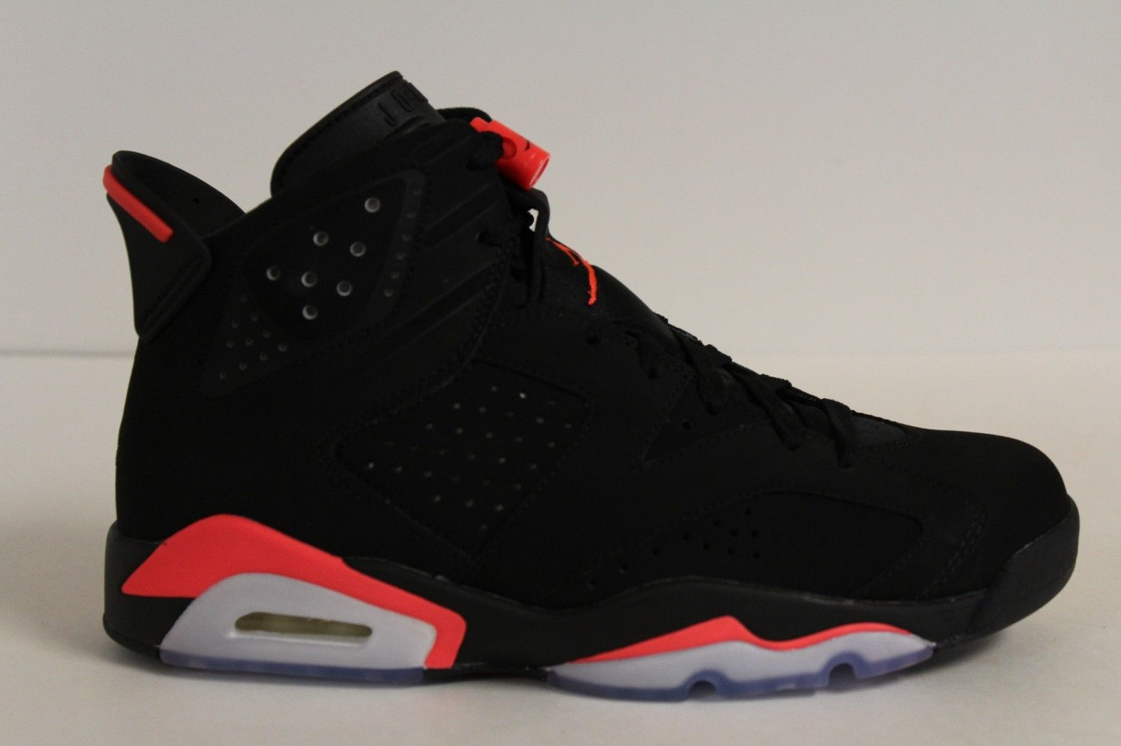 air jordans 6 (VI) youth shoes-black/infrared