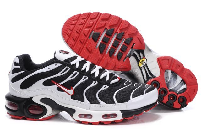 nike air max TN shoes men-black/white/red