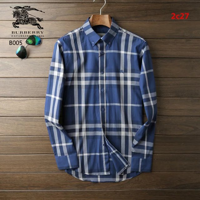 Burberry men shirts-B19581