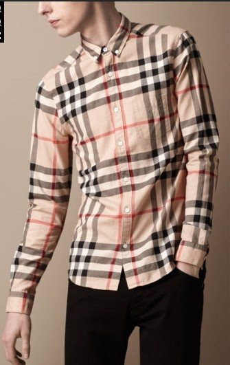 Burberry men shirts-B19583