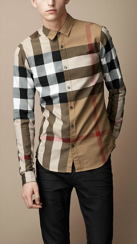 Burberry men shirts-B19584