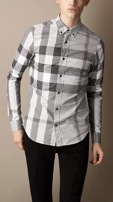 Burberry men shirts-B19585