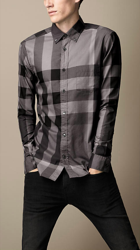 Burberry men shirts-B19587