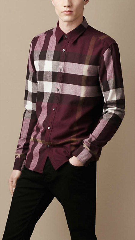 Burberry men shirts-B19589