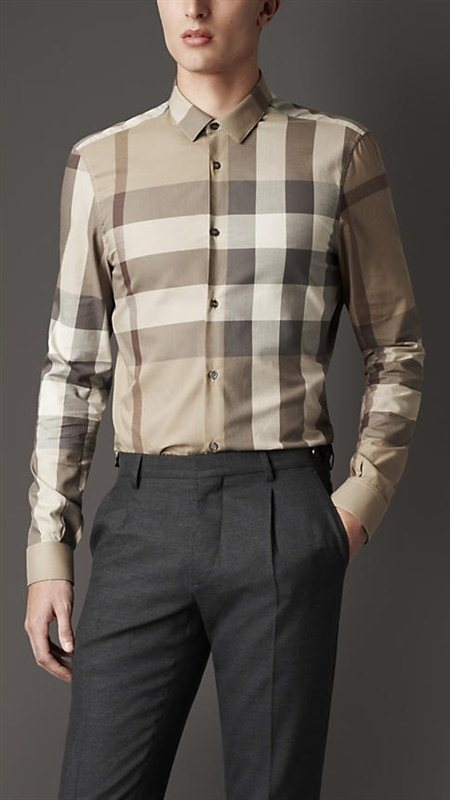 Burberry men shirts-B19590
