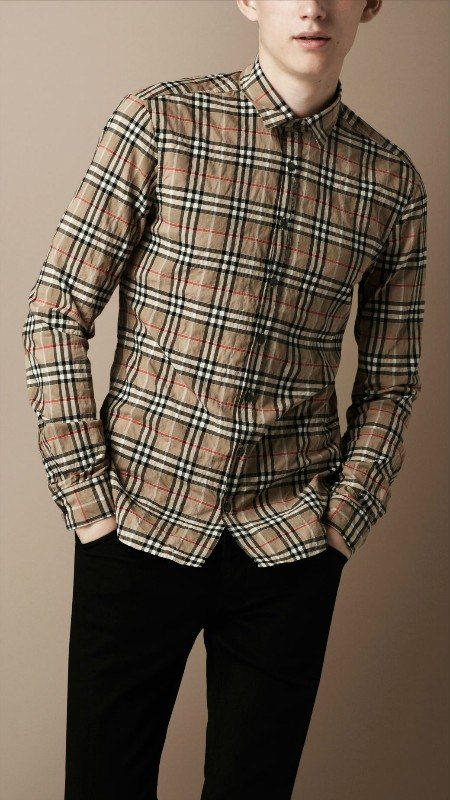 Burberry men shirts-B19591