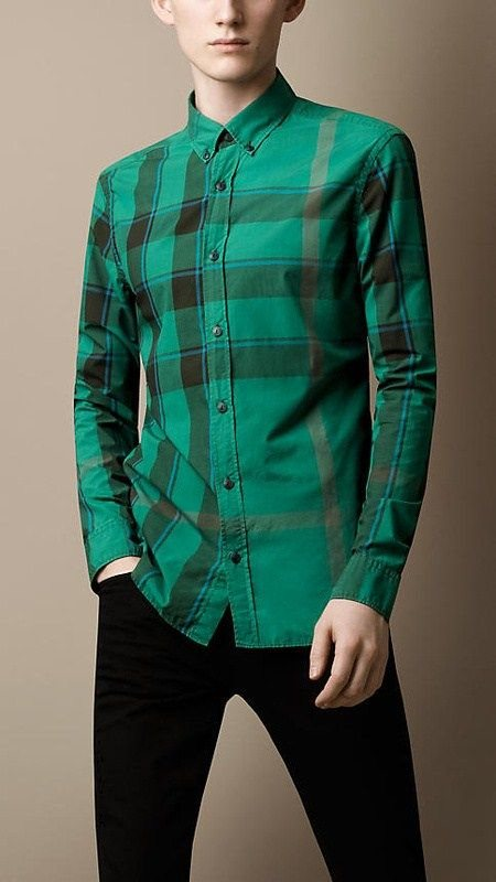 Burberry men shirts-B19592
