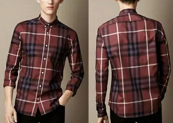 Burberry men shirts-B19598