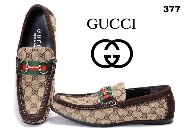 men's Gucci casual sneakers-GG377T