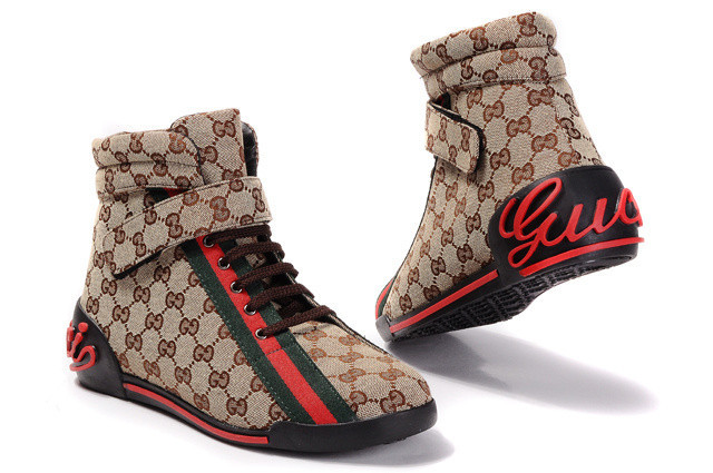 Gucci high-top shoes men-GG15888