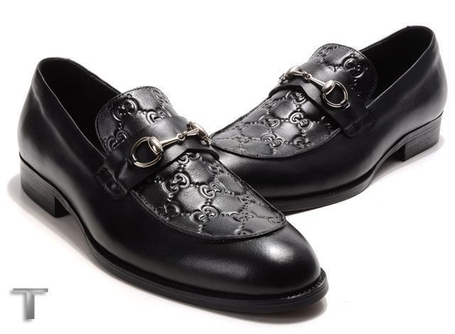 men's Gucci leather shoes-GG6911A