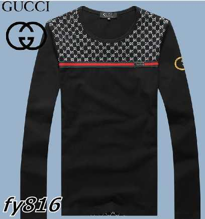 Gucci long-sleeve T-shirts men-GG8513F