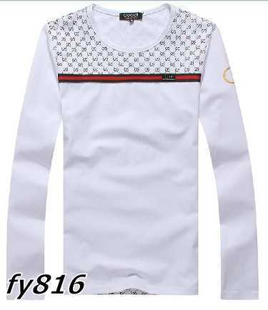 Gucci long-sleeve T-shirts men-GG8514F
