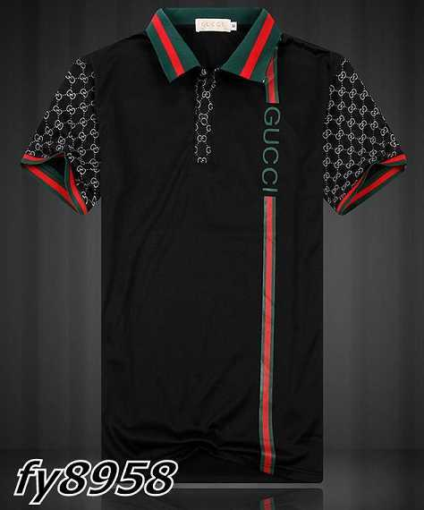 Gucci POLO shirts men-GG8959F