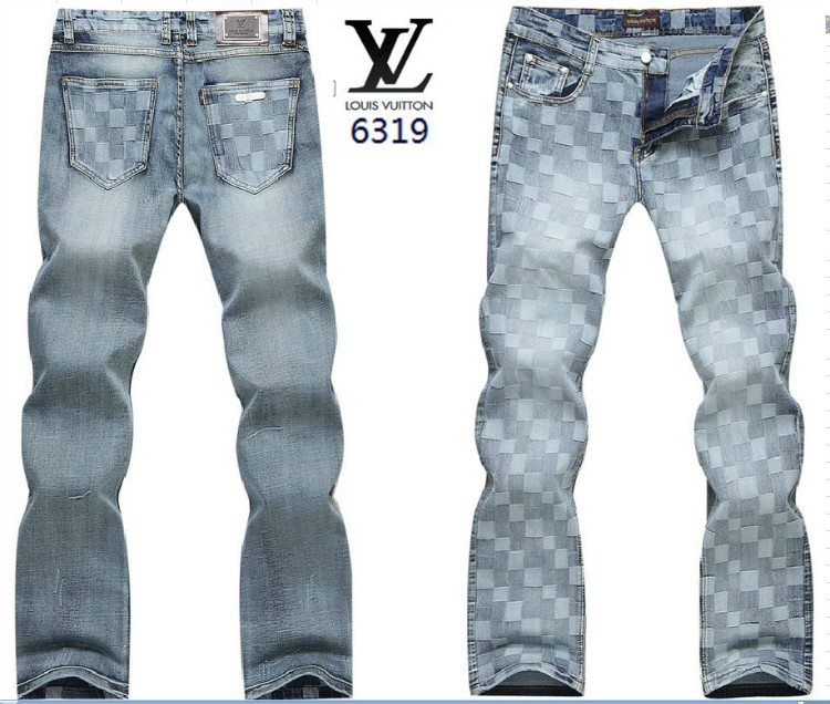 Louis Vuitton men jeans-LV7873M
