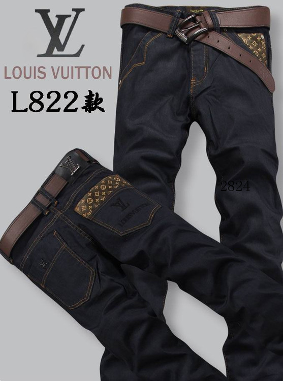Louis Vuitton men jeans-LV16215E