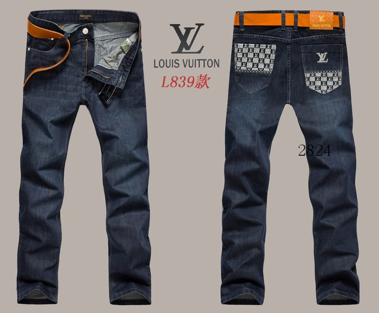Louis Vuitton men jeans-LV16224E