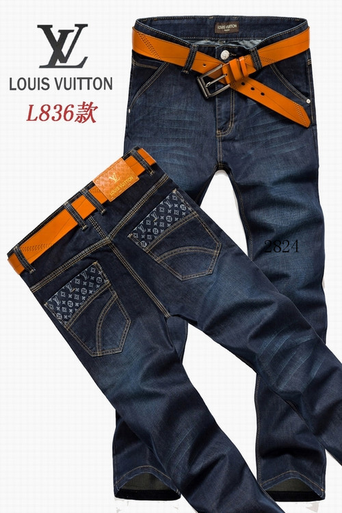Louis Vuitton men jeans-LV16226E