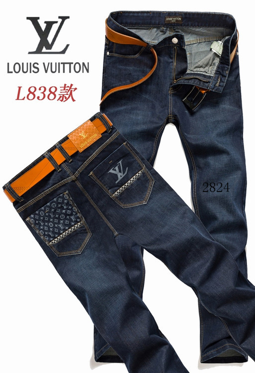 Louis Vuitton men jeans-LV16229E