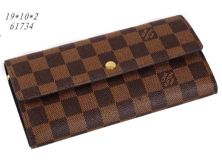 Louis Vuitton boutique wallets-LV007B