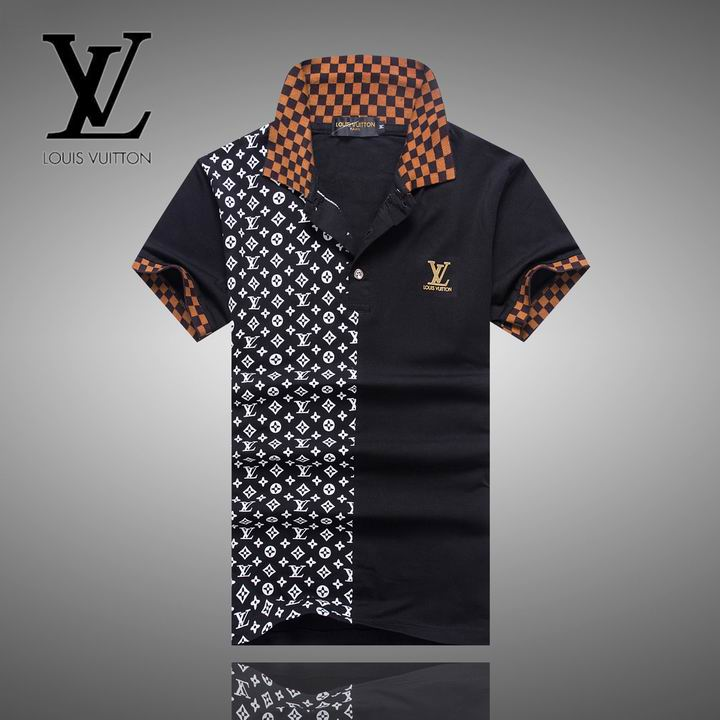 Louis Vuitton POLO shirts men-LV11637