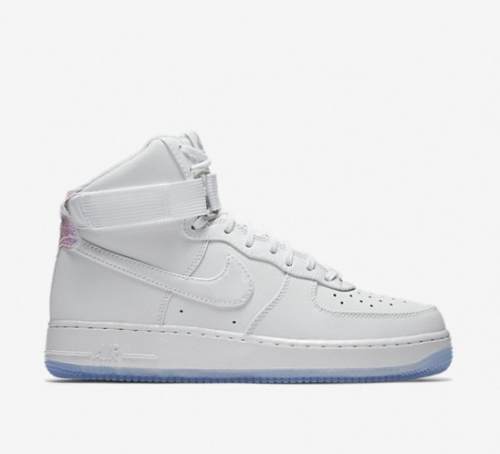 nike air force 1 high youth shoes-white/laser