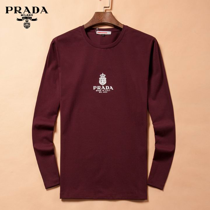 Prada long-sleeve T-shirts men-P8802S