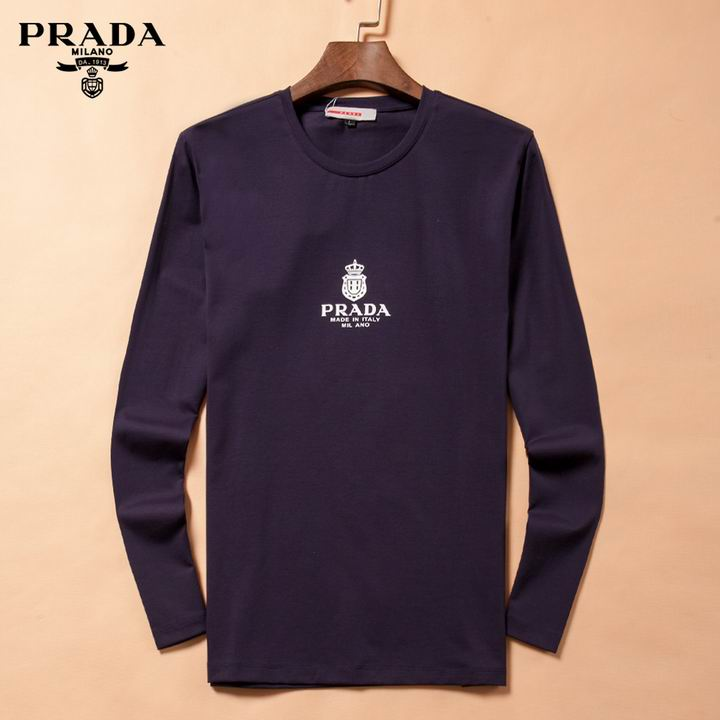 Prada long-sleeve T-shirts men-P8803S