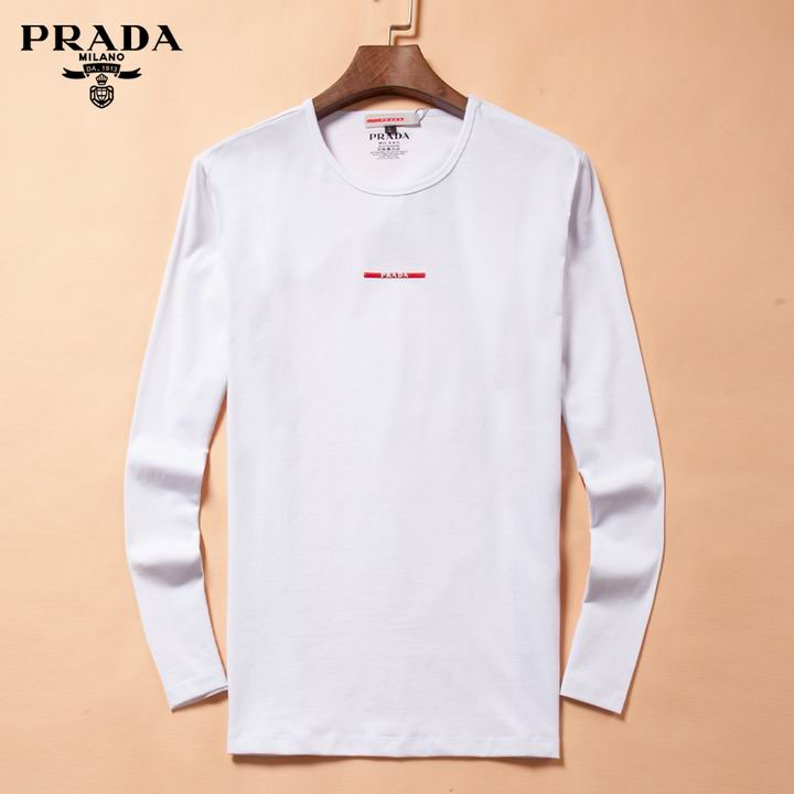 Prada long-sleeve T-shirts men-P8804S