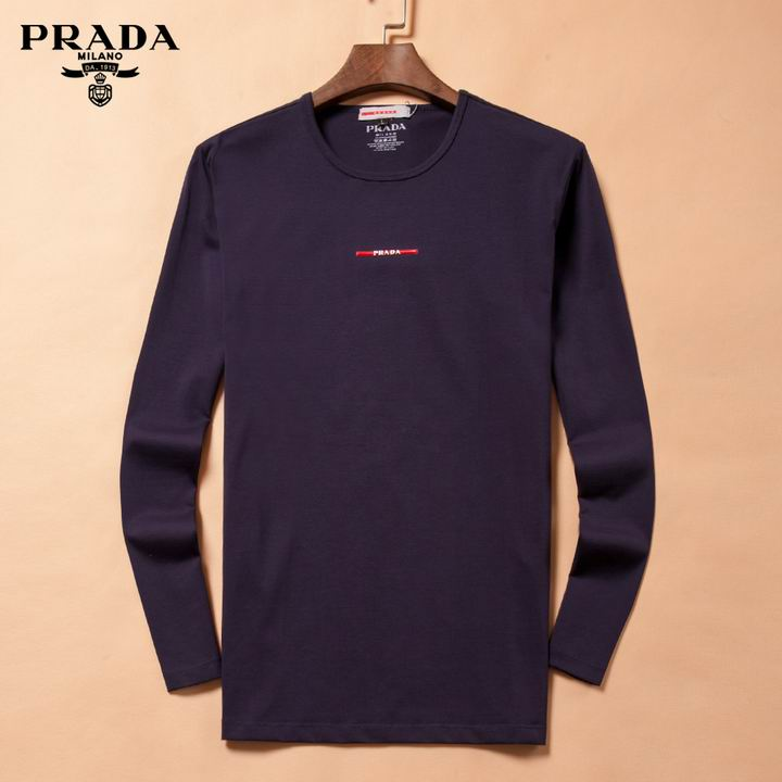 Prada long-sleeve T-shirts men-P8805S